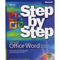 Microsoft Office Word 2007 Step by Step [With CDROM] (Häftad, 2007), Häftad, Häftad